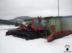 Da Skigebiet verfügte bzw verfügt über einen eigenen Pistenbulli.