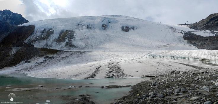 Panorama Rettenbachgletscher Sölden