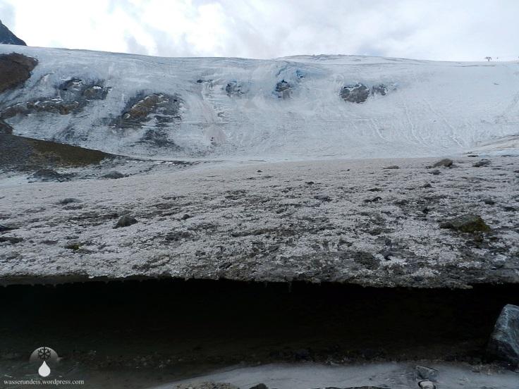 Rettenbachferner Gletscherzunge Sölden