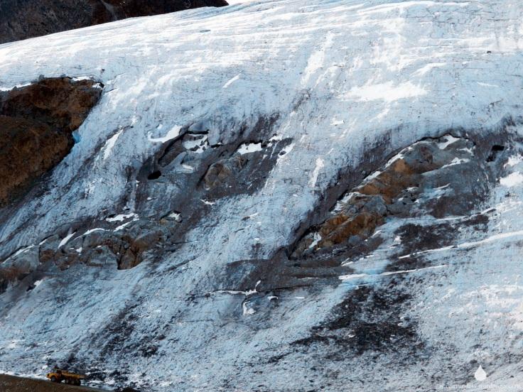 Ötztaler Gletscher im Sommer