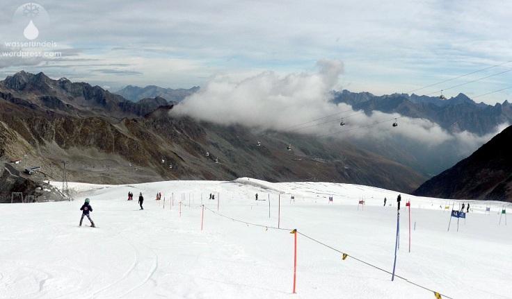 Rettenbachgletscher Sölden Gletscherpiste