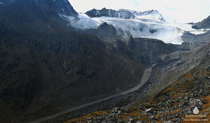 Sölden Rettenbachtal Rettenbachferner Gletscherstraße