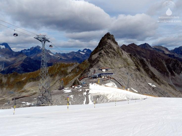 Gletscherloch Sölden Rettenbachfgletscher