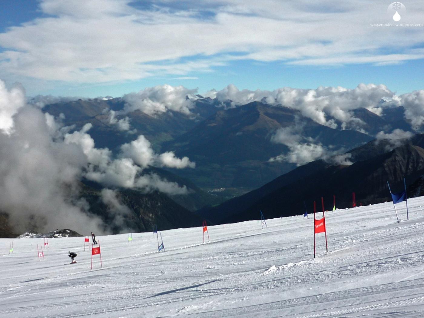 Skifahren Gletscher Stilfserjoch Sommer