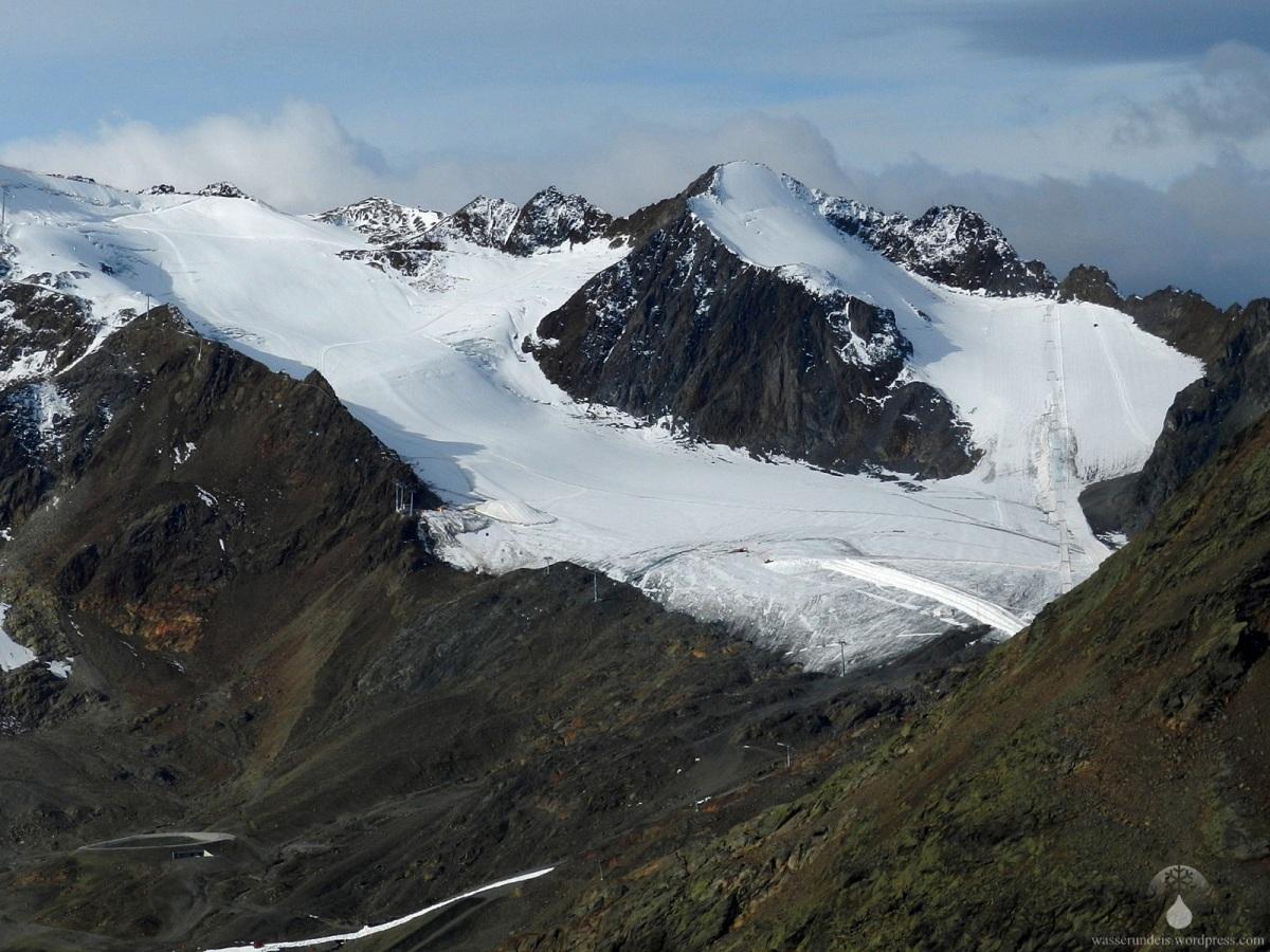 Überblick: Pitztaler Gletscher