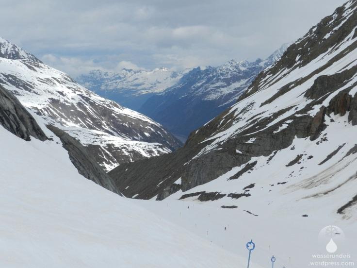 #Kaunertaler Gletscher Weißseeferner Gletscherzunge