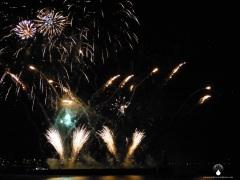 Ab jetzt jeden Abend, Feuerwerk am Weserstrandbad.