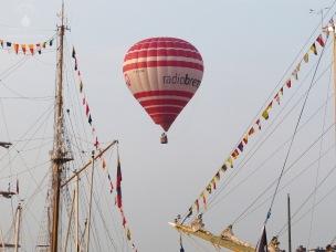 Heißluftballon von Radio Bremen.