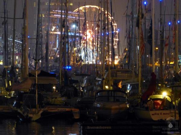 Der Neue Hafen in Bremerhaven zur Sail 2015.