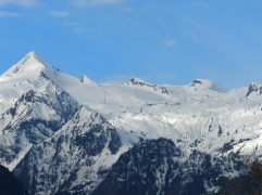 Gletscherskigebiet bei Zell am See.