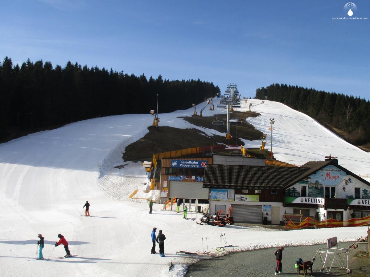 Sauerlandfinale am Poppenberg: Skiliftkarussell Winterberg