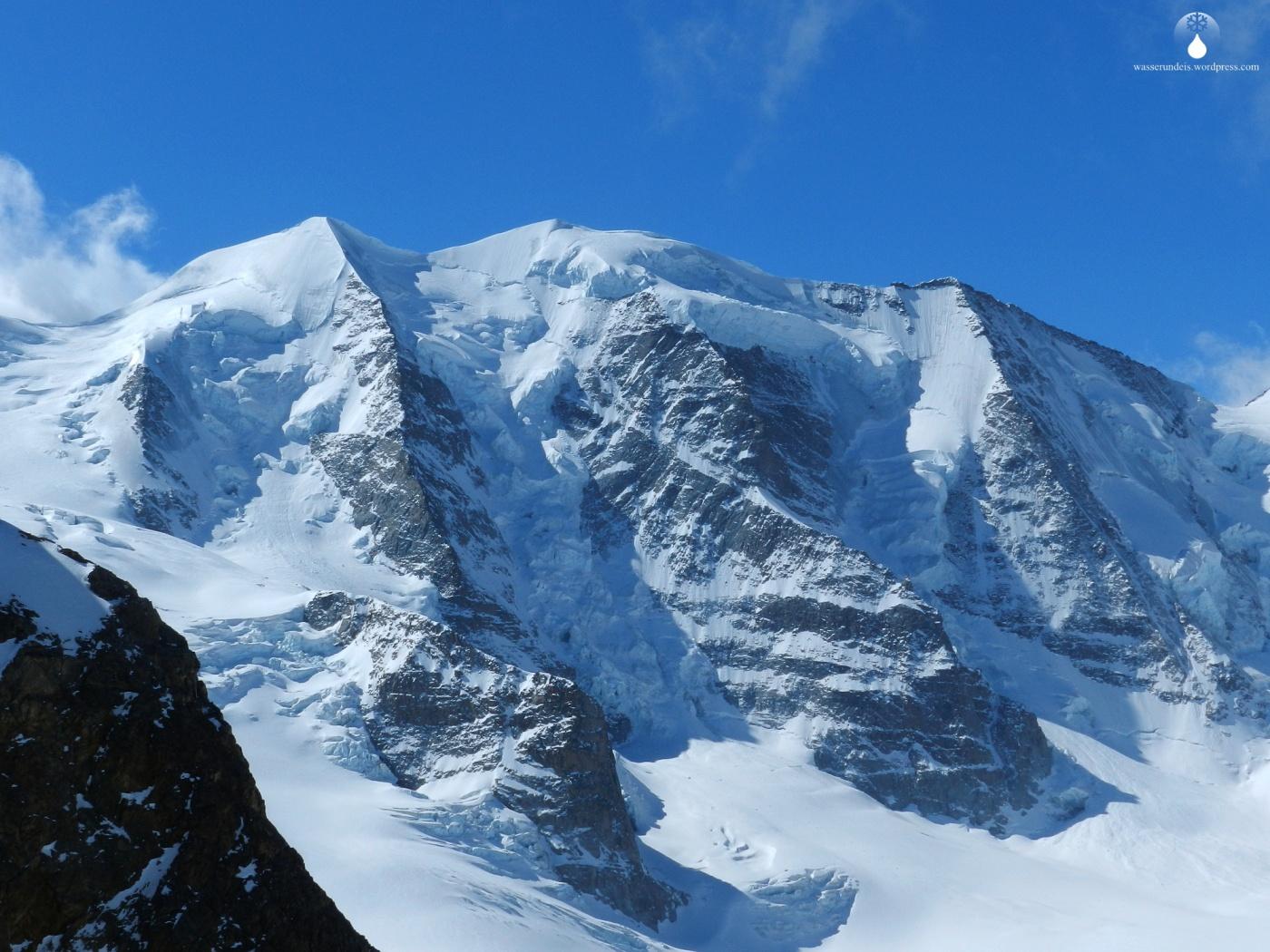 Piz.Palü Diavolezza Bergbahn Skigebiet
