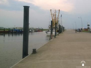 Der Wremer Kutterhafen.
