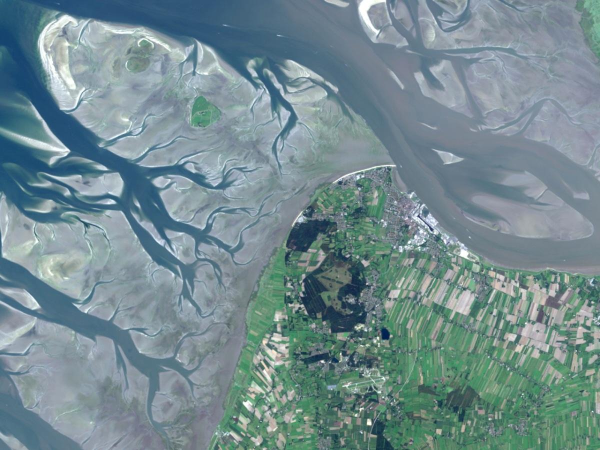 Landsat 8 - Satellitenbilder selbst erstellen