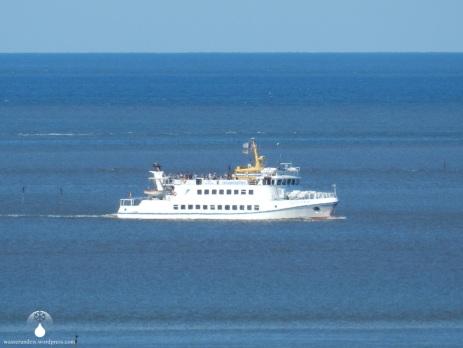Fähre von Cuxhaven zur Insel Neuwerk