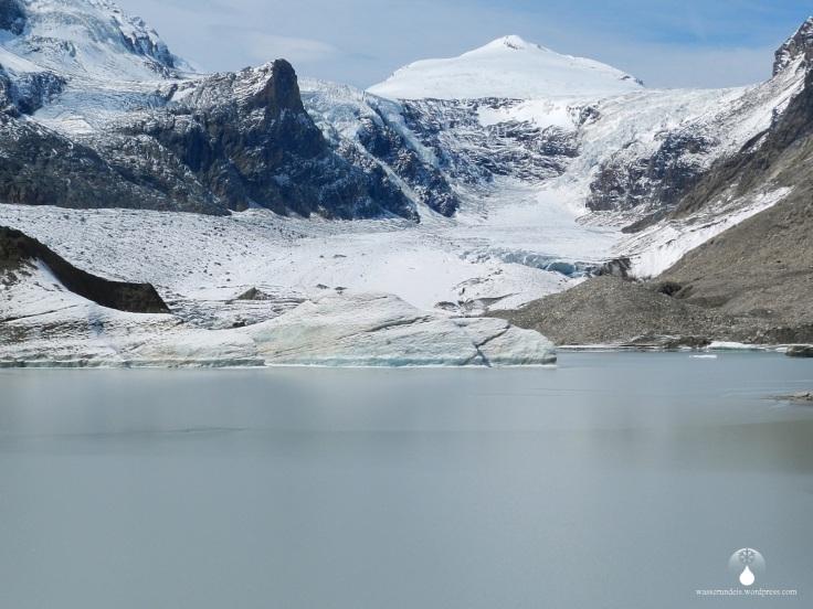 #Gletscherzunge Gletschersee Pasterze