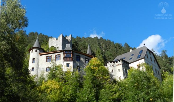 #Schloss Fernsteinsee mit Ruine Burg Fernstein 2017