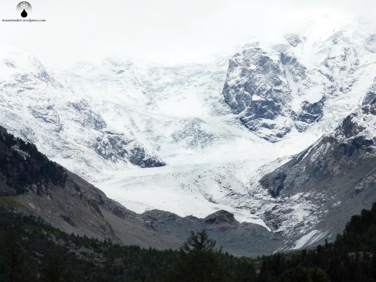 Morteratsch-Gletscher: Nach dem Sommer 2017