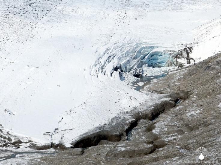 Eiszerfall Schmelzen Pasterze Gletscher