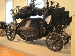 Wagen der für die Bestattungen von Kaiser Franz-Josef, Sissi und ihren Kindern genutzt wurde.