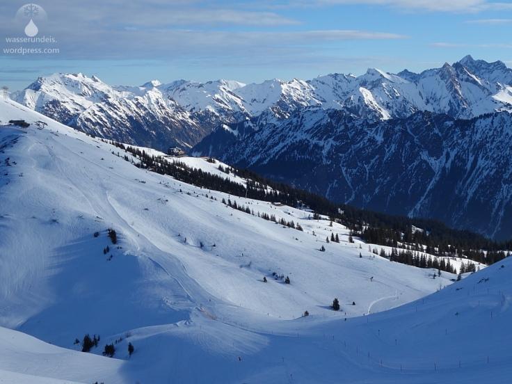 Skigebiet Fellhorn Kanzelwand Hochalpen