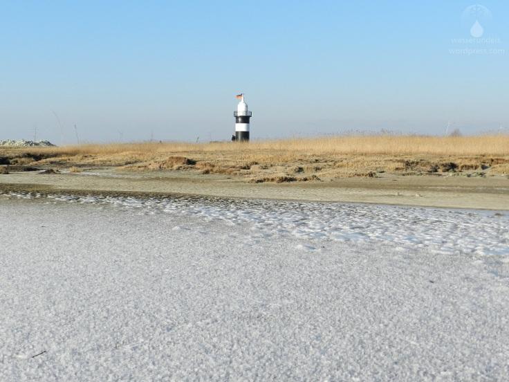 Kleiner Preuße Leuchtturm Eis