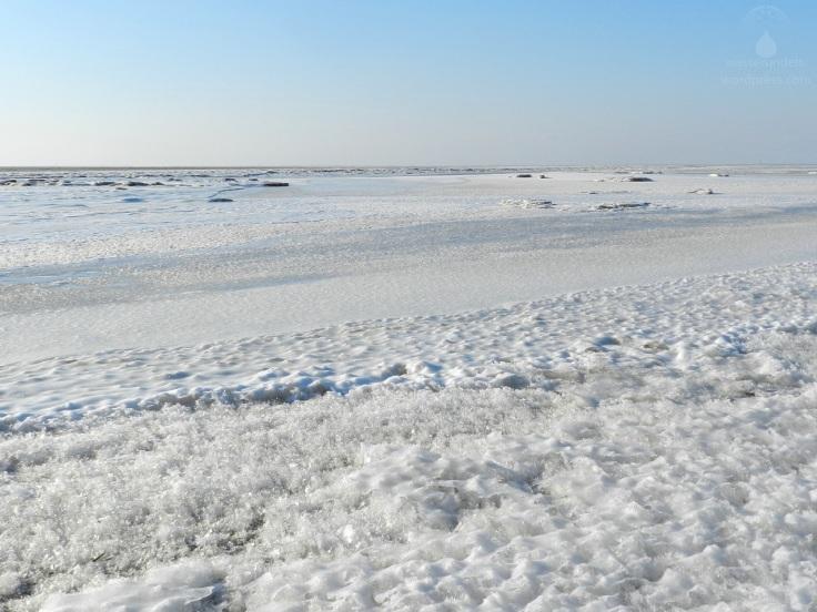 Eis auf der Nordsee