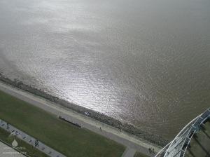 #Aussichtsplattform Sail City Tiefblick