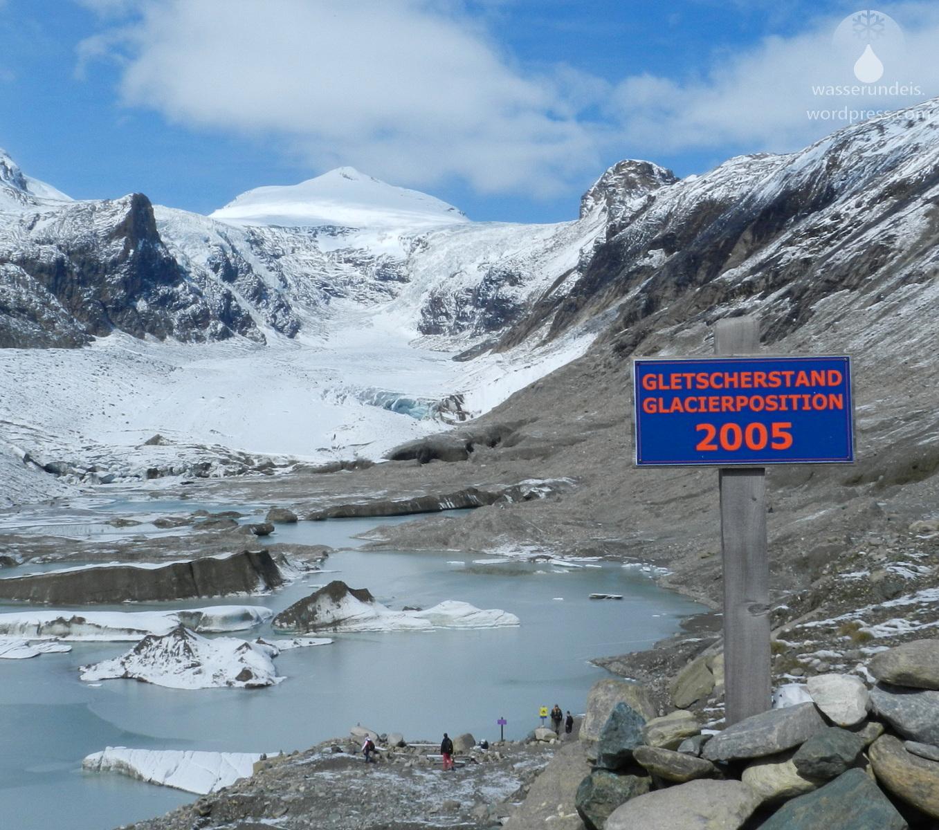 Pasterze Gletscher 2005 2017