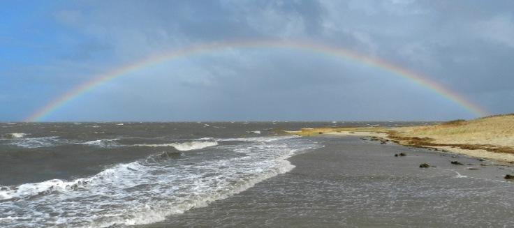 Sahlenburg_Strand_Regenbogen