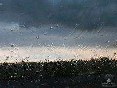 Bald ist das Gewitter vorrüber.