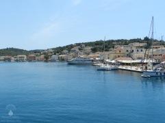 Hafen von Gaios.