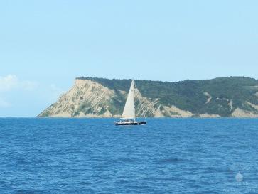 Die Südspitze von Korfu.