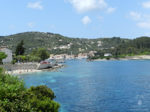 Badebucht bei Gaoios auf Paxos.