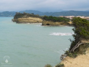 Die Nordküste der Insel Korfu bei Sidari.