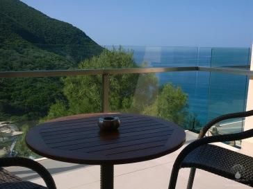 Blick vom Hotelbalkon - Meerblick!
