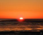 # Sonnenuntergang Imsum Wattenmeer