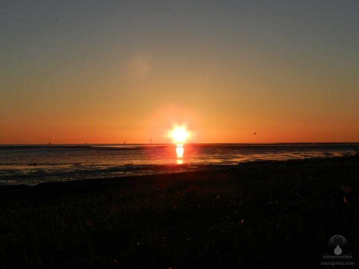 #Sonnenuntergang Schottwarden