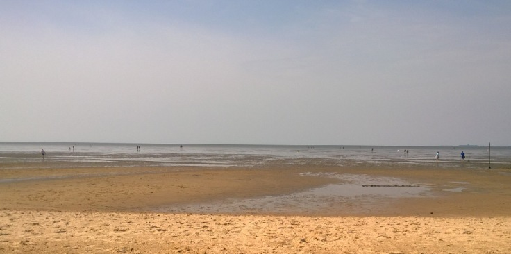 Ebbe am Sahlenburger Strand