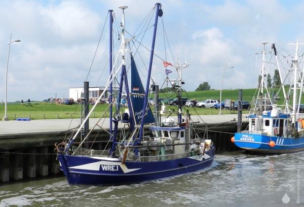 Krabbenkutter Kutterhafen Wremen