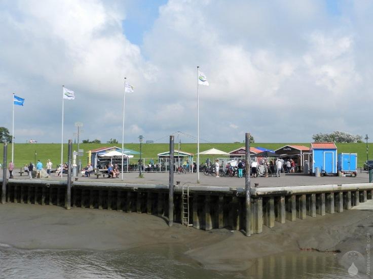 Buden Wremer Hafen