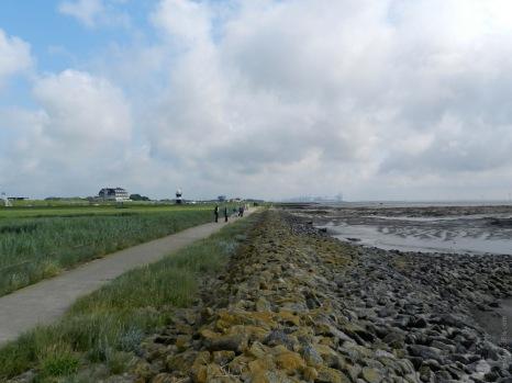 Wanderweg Wattenmeer Wremen