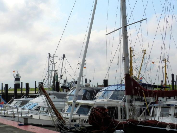 Yachten Wremen Hafen