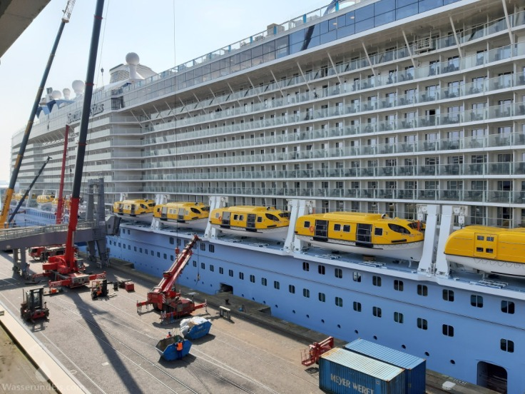Bremerhaven Kreuzfahrt Hafen Columbus-Cruise-Center Besuchergalerie