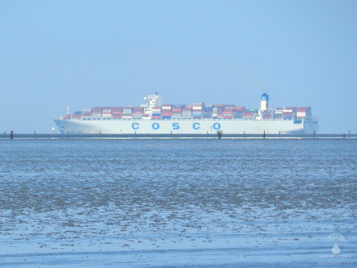 Veränderungen im Watt vor Cuxhaven