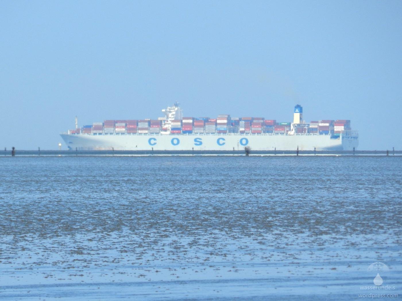 Wattenmeer vor Cuxhaven-Döse