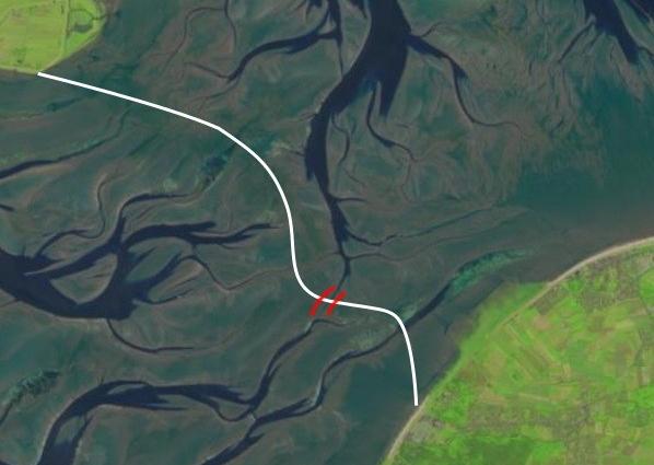 #Wattenweg Neuwerk Duhner Loch