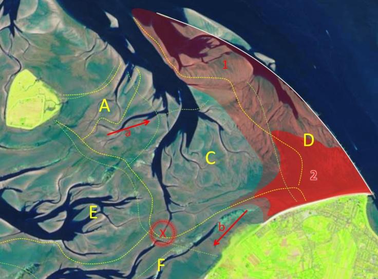 #Veränderungen im Wattenmeer vor Cuxhaven