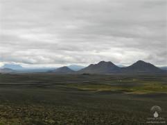 Mondlandschaft im Nordosten Islands.