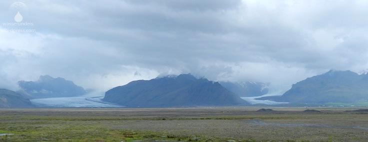 #Öræfajökull Gletscherzungen